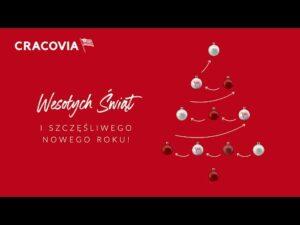 Read more about the article Życzenia Bożonarodzeniowe od piłkarzy Cracovii (25.12.2020)