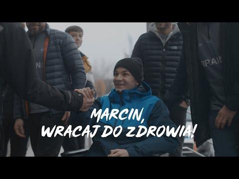 Marcin, wracaj do zdrowia!