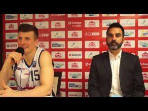 Konferencja po meczu King Szczecin – Enea Astoria Bydgoszcz (część 1)