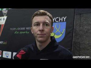 Półfinał Pucharu Polski: Wypowiedź Krzysztofa Majkowskiego po meczu GKS Tychy – Unia Oświęcim 1:3