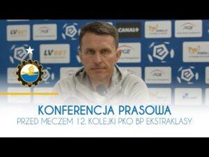 TV Stal: Konferencja prasowa przed meczem 12. kolejki PKO BP Ekstraklasy