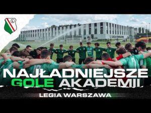 Read more about the article TAK GRA MŁODA LEGIA   Zobacz najładniejsze gole Akademii