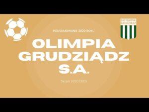 Read more about the article Podsumowanie 2020 roku w Olimpii Grudziądz S.A.