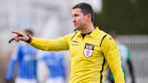 Sebastian Jarzębak sędzią meczu na szczycie pierwszej ligi
