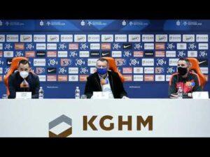 Read more about the article Konferencja z udziałem Prezesa Artura Jankowskiego, trenera Martina Ševeli i Lubomira Guldana