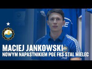 TV Stal: Maciej Jankowski nowym napastnikiem PGE FKS Stal Mielec