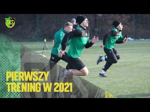 [GKS TV] Pierwszy trening w 2021 roku