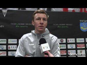 26. kolejka PHL: Wypowiedź Krzysztofa Majkowskiego po meczu GKS Tychy – Zagłębie Sosnowiec 7:3