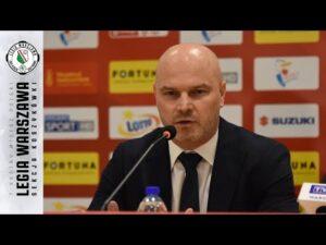 Read more about the article Konferencja prasowa po meczu Legia Warszawa – Zastal Enea BC    Legia Warszawa Koszykówka