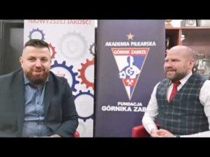 Łukasz Milik o minionym roku i celach Akademii Górnika na 2021.