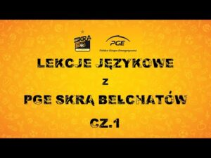 Read more about the article Lekcje językowe z PGE Skrą Bełchatów (cz. I)
