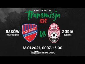 Read more about the article Live: Raków Częstochowa – Zoria Ługańsk (sparing 12.01.2021) | #RAKOWONTUR 🇹🇷