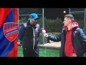 Trener Marek Papszun po sparingu z Zorią Ługańsk | #RAKOWONTUR 🇹🇷
