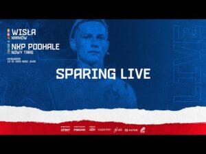 LIVE 🔴 Wisła Kraków – Podhale Nowy Targ