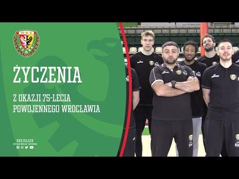 Życzenia z okazji 75-lecia powojennego Wrocławia