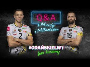 Read more about the article #gdańskielwy bez ściemy: boomerzy Mariusz Wlazły i Mateusz Mika | Trefl Gdańsk