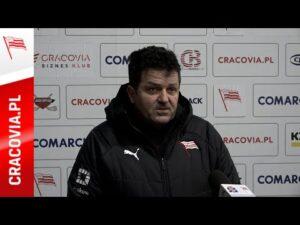 Rudolf Roháček po meczu z Podhale Nowy Targ 15 01 2021