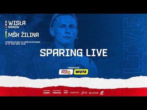 LIVE 🔴 Wisła Kraków – MŠK Žilina