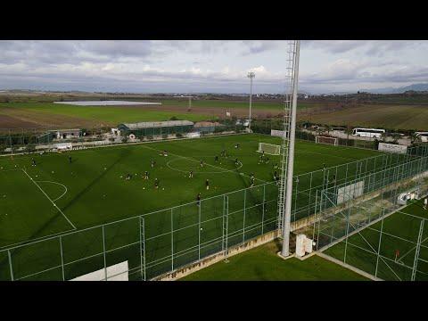 Pierwszy trening na Susesi, Đorđe Miedziowym, stadiony świata Żubra i Jonia | #BelekZL2021