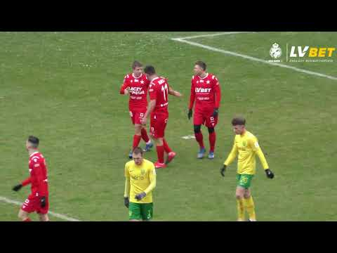 Skrót meczu Wisła – MŠK Žilina (16.01.2021)