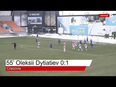 Bramki z meczu Bruk Bet Termalica Nieciecza – Cracovia (16.01.2021)