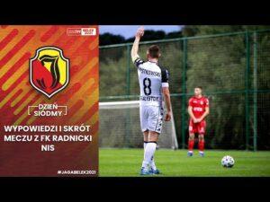 [Jaga w Belek 2021] Dzień 7. Wypowiedzi i skrót meczu z FK Radnicki NIS