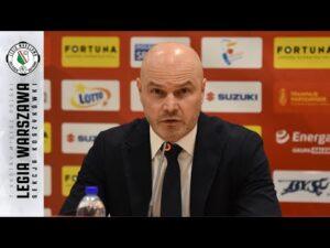 Konferencja prasowa po meczu Legia Warszawa – Anwil Włocławek | Legia Warszawa Koszykówka