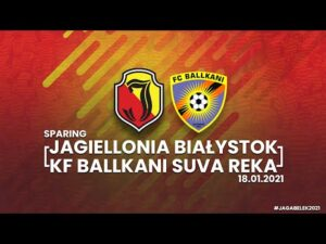 [Jaga w Belek 2021] Jagiellonia Białystok – KF Ballkani Suva Reka
