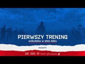 Read more about the article Pierwszy trening Wiślaków w 2021 roku