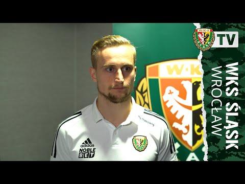 Bartłomiej Pawłowski po meczu sparingowym z Olimpikiem