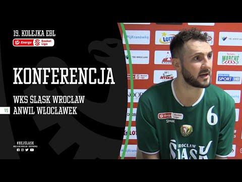 #19 Konferencja prasowa po meczu WKS Śląsk Wrocław – Anwil Włocławek (20.01.2021 r.)
