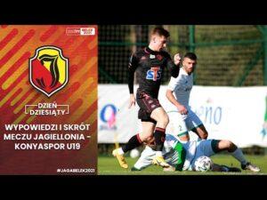 [Jaga w Belek 2021] Dzień 10. Wypowiedzi oraz skrót meczu Jagiellonia vs Konyaspor U19 (4-1)