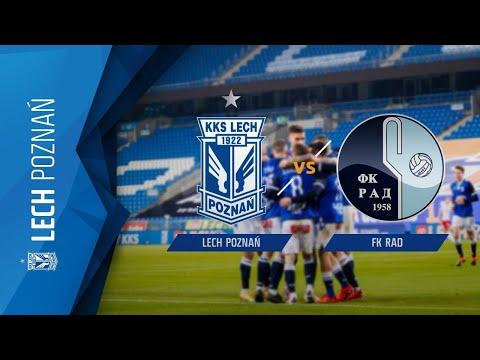 TRANSMISJA: LECH Poznań – FK Rad