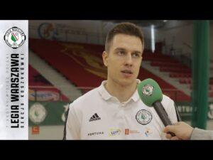 Raport z treningu: Przed meczem z Asseco Arką Gdynia | Legia Warszawa Koszykówka