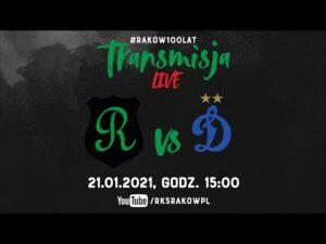 Read more about the article Live: Raków Częstochowa – Dinamo Moskwa (sparing 21.01.2021) | #RAKOWONTUR 🇹🇷