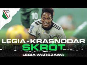 Read more about the article SKRÓT MECZU LEGIA WARSZAWA – FK KRASNODAR