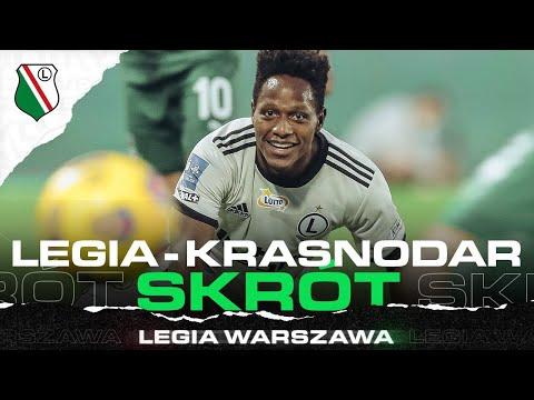 SKRÓT MECZU LEGIA WARSZAWA – FK KRASNODAR
