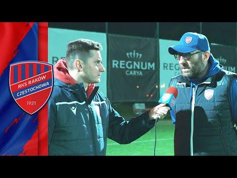 Trener Marek Papszun po sparingu z Dinamem Moskwa | #RAKOWONTUR 🇹🇷