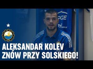 Read more about the article TV Stal: Aleksandar Kolev znów przy Solskiego!