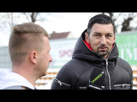 2021-01-22 Sandecja – Podhale 4-0 (1-0), trener Dariusz Dudek