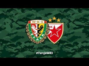 Śląsk Wrocław – FK Crvena zvezda (II połowa) | #TurcjaWKS