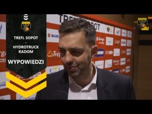 Read more about the article Wypowiedzi po meczu Trefl Sopot – HydroTruck Radom | Trefl Sopot