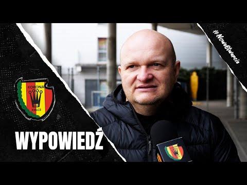Trener Bartoszek po sparingu z Zagłębiem Sosnowiec (23.01.2021)