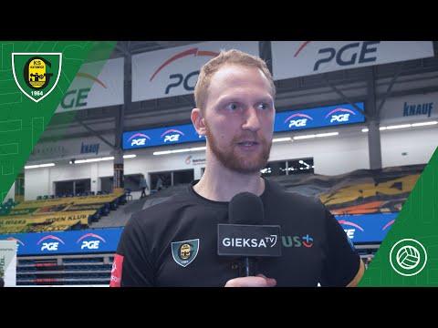 PlusLiga: PGE Skra Bełchatów – GKS Katowice 3:1 (22 01 2021)