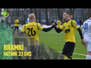 [GKS TV] Bramki z meczu Hutnik Kraków – GKS Jastrzębie (3:1)