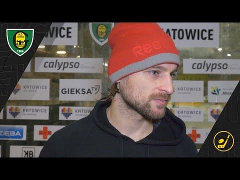 Juraj Simboch po meczu GKS Katowice – GKS Tychy 1:3 (24 01 2021)