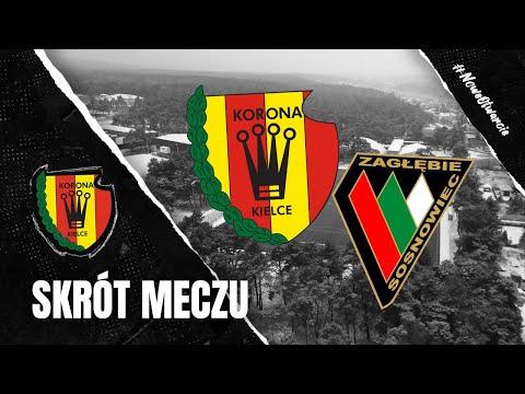 Skrót sparingu Korona Kielce – Zagłębie Sosnowiec 1:0 (23.01.2021)