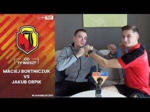 Read more about the article [Jaga w Belek 2021] Jaga Quiz – Co Ty wiesz? Jakub Orpik vs. Maciej Bortniczuk