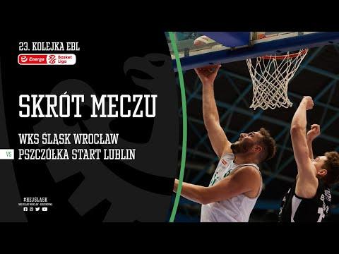 #23 SKRÓT: WKS Śląsk Wrocław – Pszczółka Start Lublin 91:77