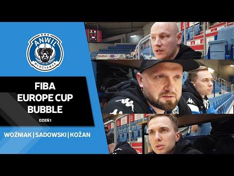 FIBA Europe Cup Bubble   Dzień 1   Scouting Dnipro